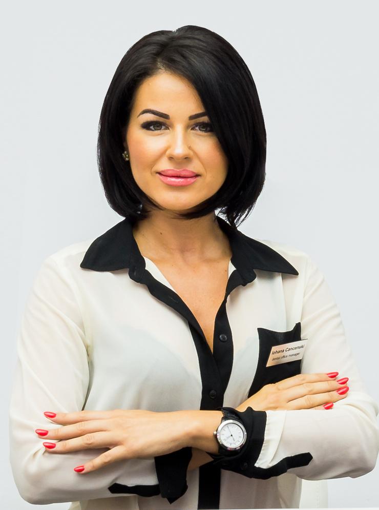 Office Manager <br>Iohana Cancenski